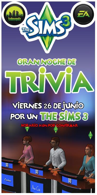 flyer the sims 3 trivia VER 2 copy